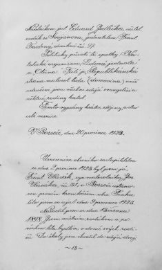 Kronika obce I- 16.list Úvodem oobci
