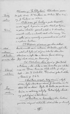Kronika obce I- 104.list Rok 1938