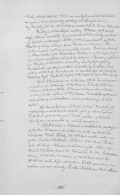 Kronika obce I- 207.list Rok 1949