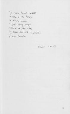 Kronika obce II - 8.list Báseň Rozseči