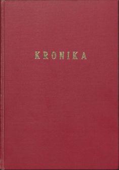 Kronika obce III - 1.list Obal kroniky aúvod