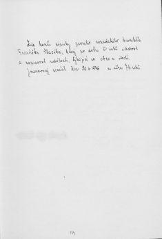 Kronika obce III - 123.list Rok 1974