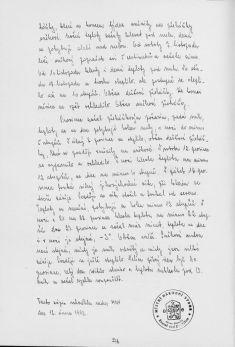 Kronika obce III - 265.list Rok 1981