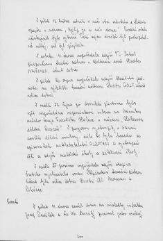 Kronika obce III - 287.list Rok 1983