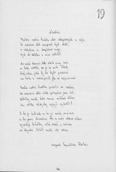 Kronika obce III - 297.list Rok 1984