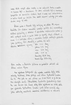 Kronika obce III - 304.list Rok 1984