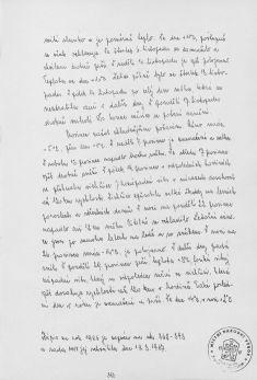 Kronika obce III - 380.list Rok 1986