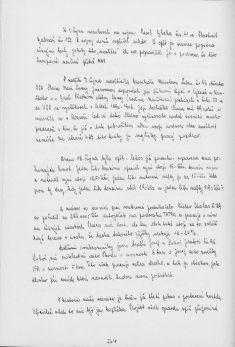 Kronika obce III - 491.list Rok 1990