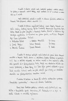 Kronika obce III - 501.list Rok 1990