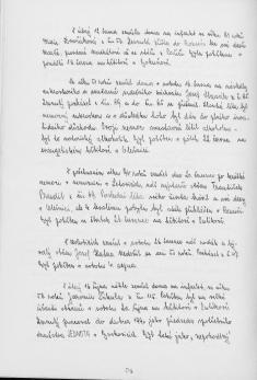 Kronika obce III - 505.list Rok 1990