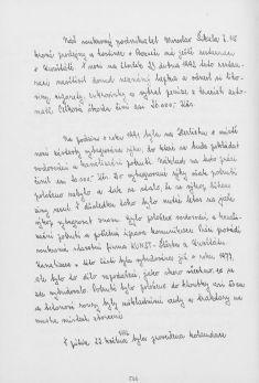Kronika obce III - 554.list Rok 1992