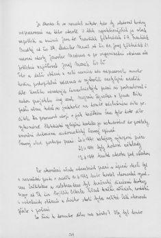 Kronika obce III - 557.list Rok 1992