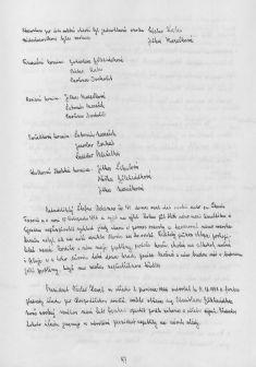 Kronika obce IV - 95.list Rok 1998