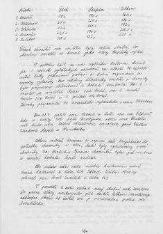 Kronika obce IV - 122.list Rok 2000