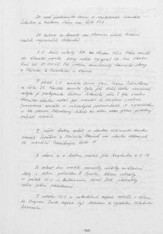 Kronika obce IV - 138.list Rok 2001
