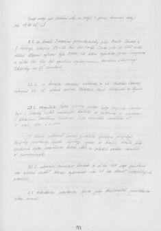 Kronika obce IV - 171.list Rok 2003