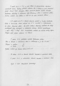 Kronika obce IV - 271.list Rok 2008