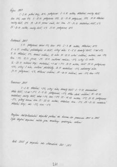 Kronika obce IV - 279.list Rok 2008